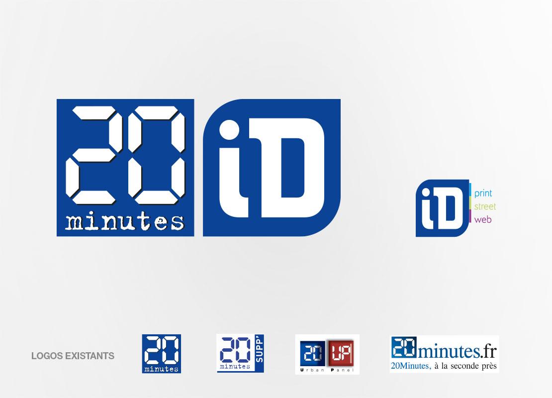 logo 20 minutes ID