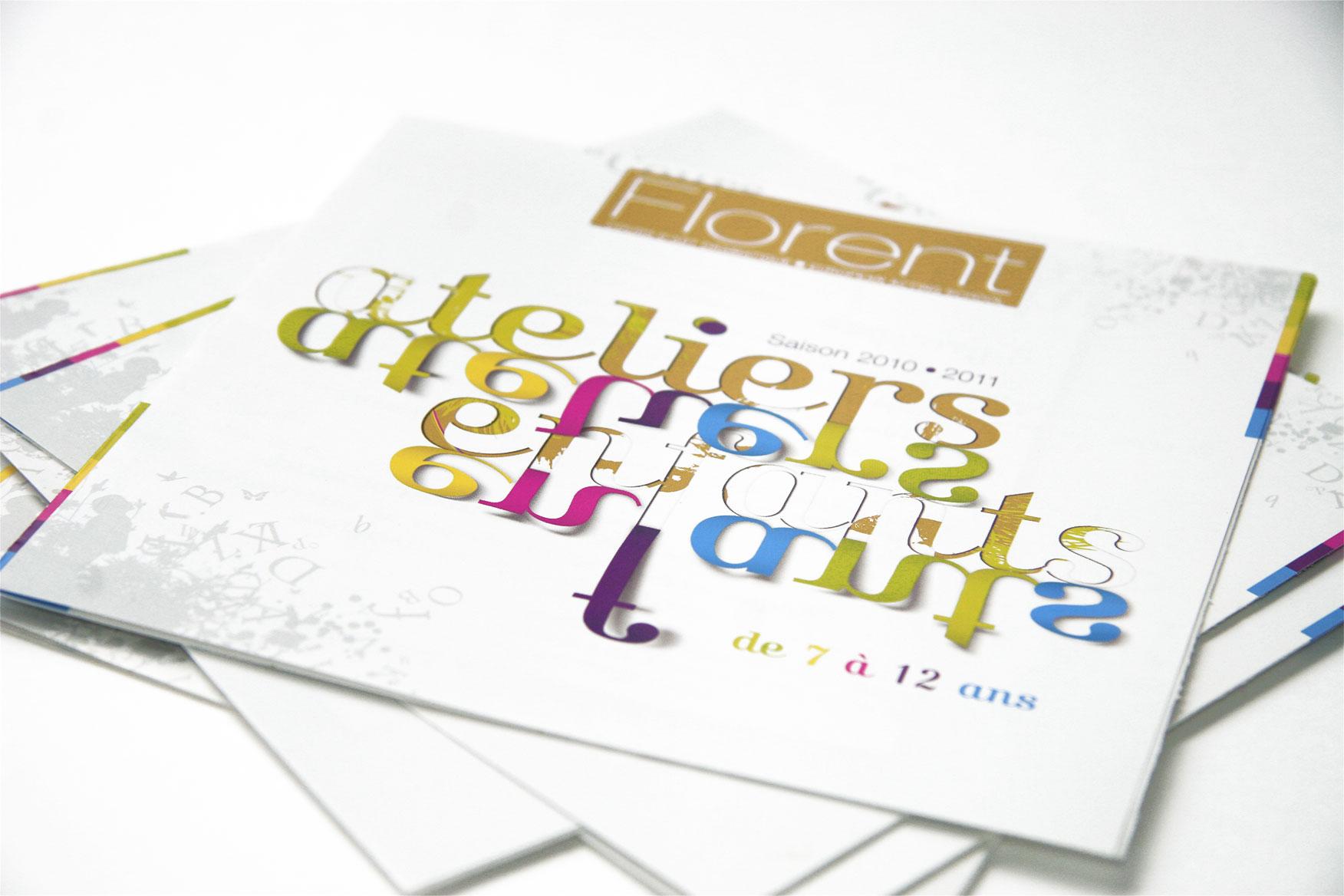 Plaquette ateliers enfants Cours Florent
