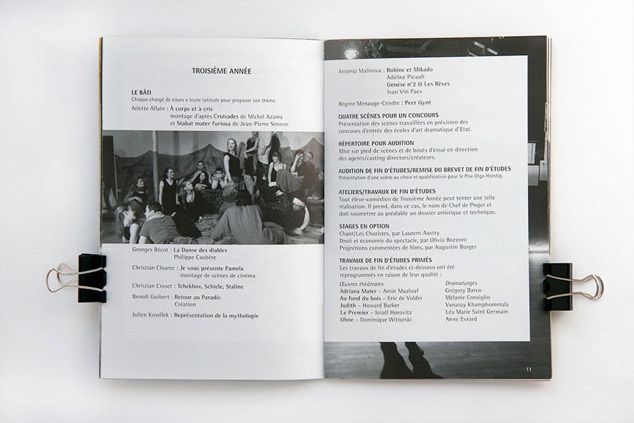 Livret annuaire