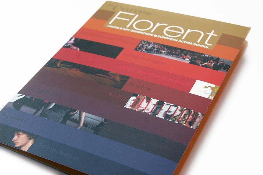 Pochette dossier Florent
