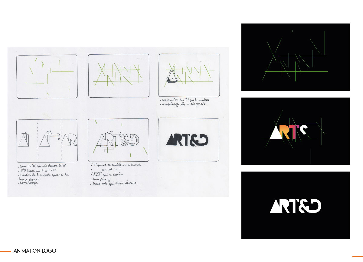 Animation logotype